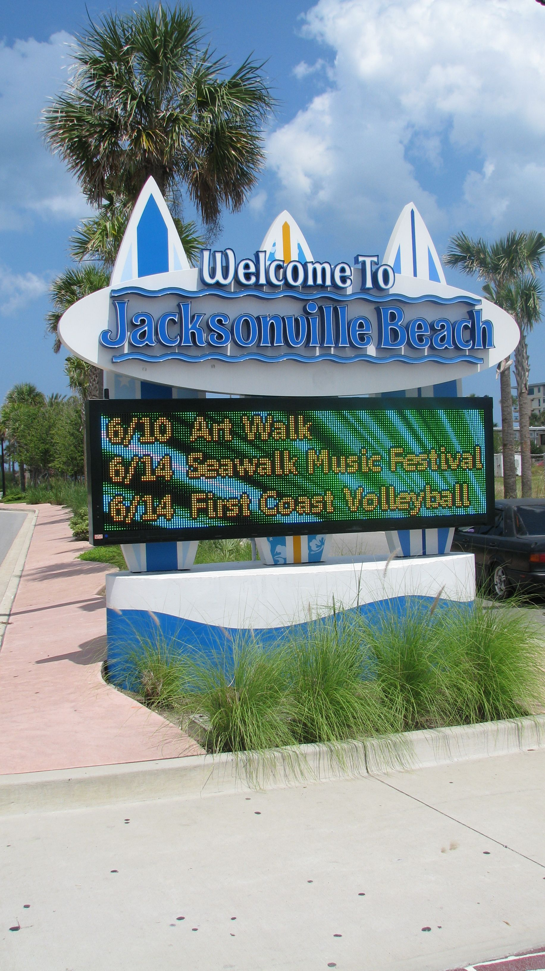 welcome to Jacksonville Beach