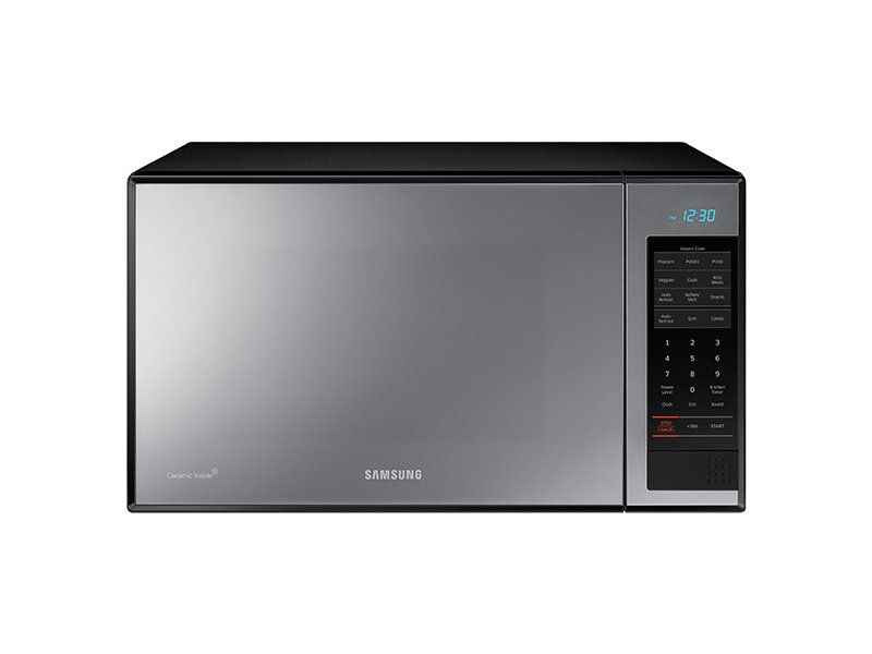 1 4 Cu Ft Countertop Microwave With Powergrill In Stainless Steel Countertops Microwave Grill Microwave