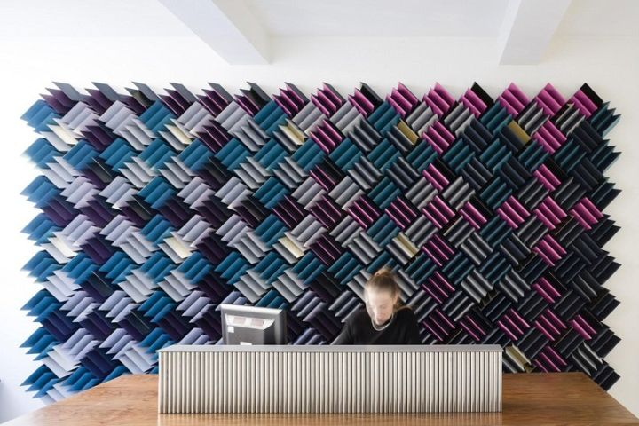 Acoustitch Installation by RCKa, London – UK » Retail Design Blog
