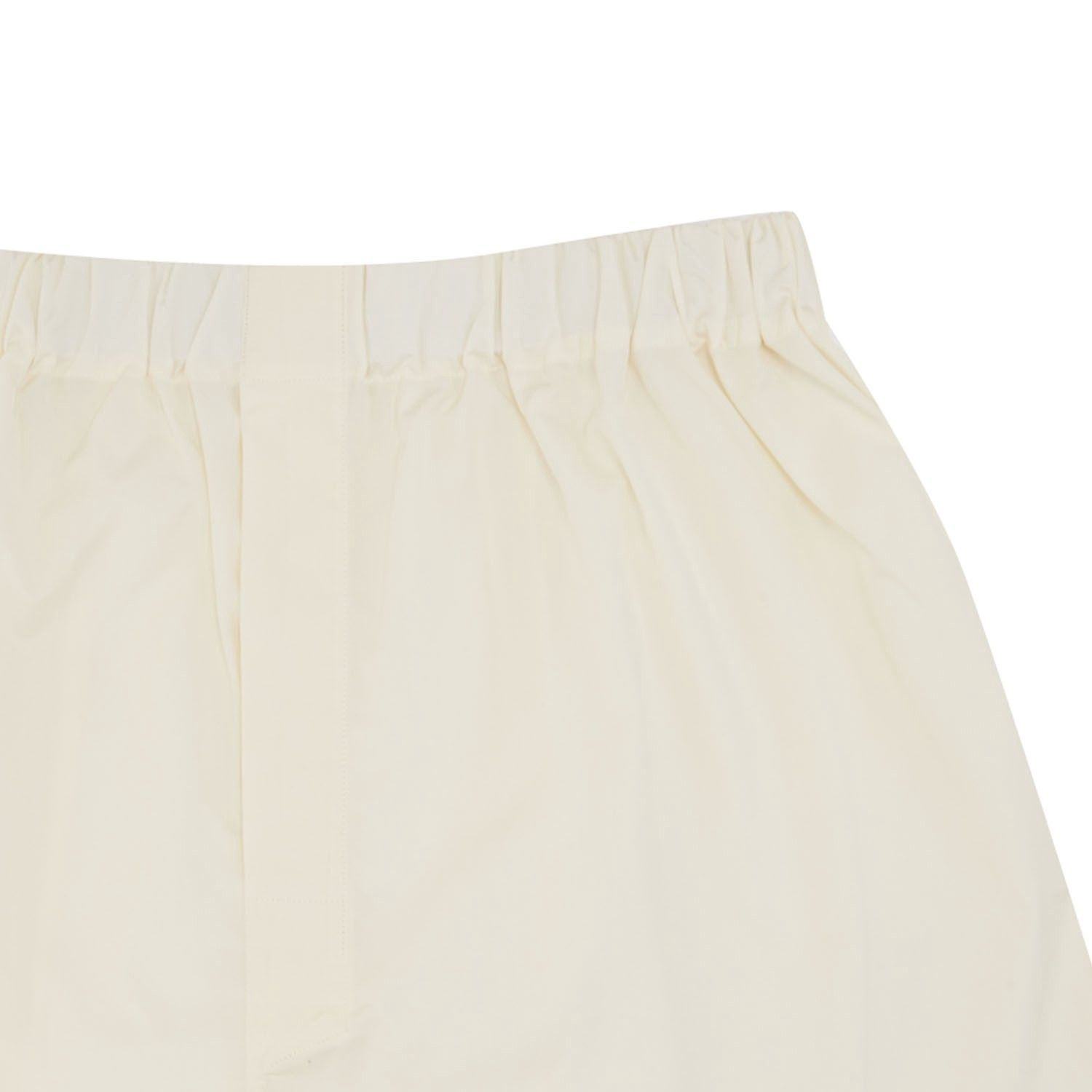 Turnbull Amp Asser Plain Cream Cotton Boxer Shorts