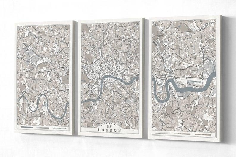 London England Canvas Print Large Wall Art England Map White Etsy In 2020 Extra Large Wall Art Large Wall Art Horizontal Wall Art