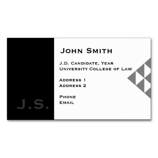 Law student business card 3 lawyer business cards pinterest law student business card 3 accmission Images