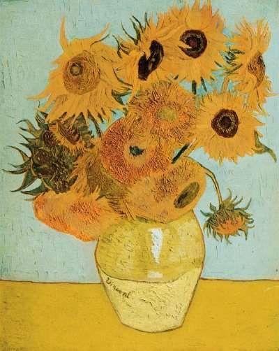 Vincent Van Gogh Girassois Amarelos Com Imagens Arte Floral