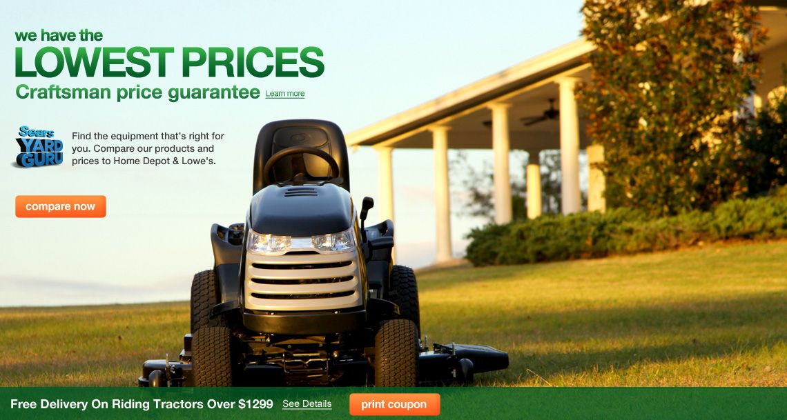 Lowest Prices of the Season on advertised Lawn & Garden 4