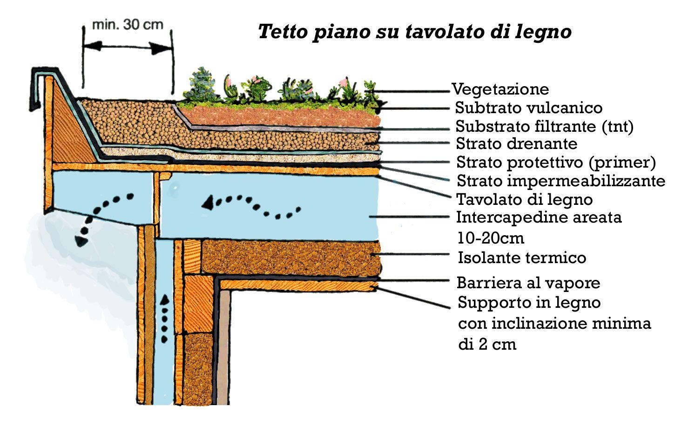 I tetti verdi scuola pinterest tetti verdi tetti e for Tetti in legno particolari costruttivi