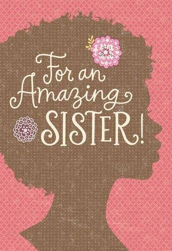 Jill scott so pretty you shine birthday card birthdays african american sister silhouette birthday card large bookmarktalkfo Image collections