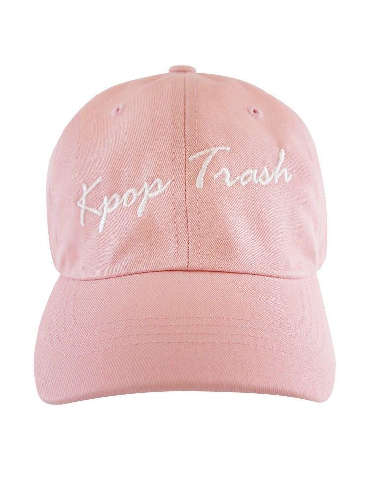 bf0516bebec KPOP Trash Dad Hat