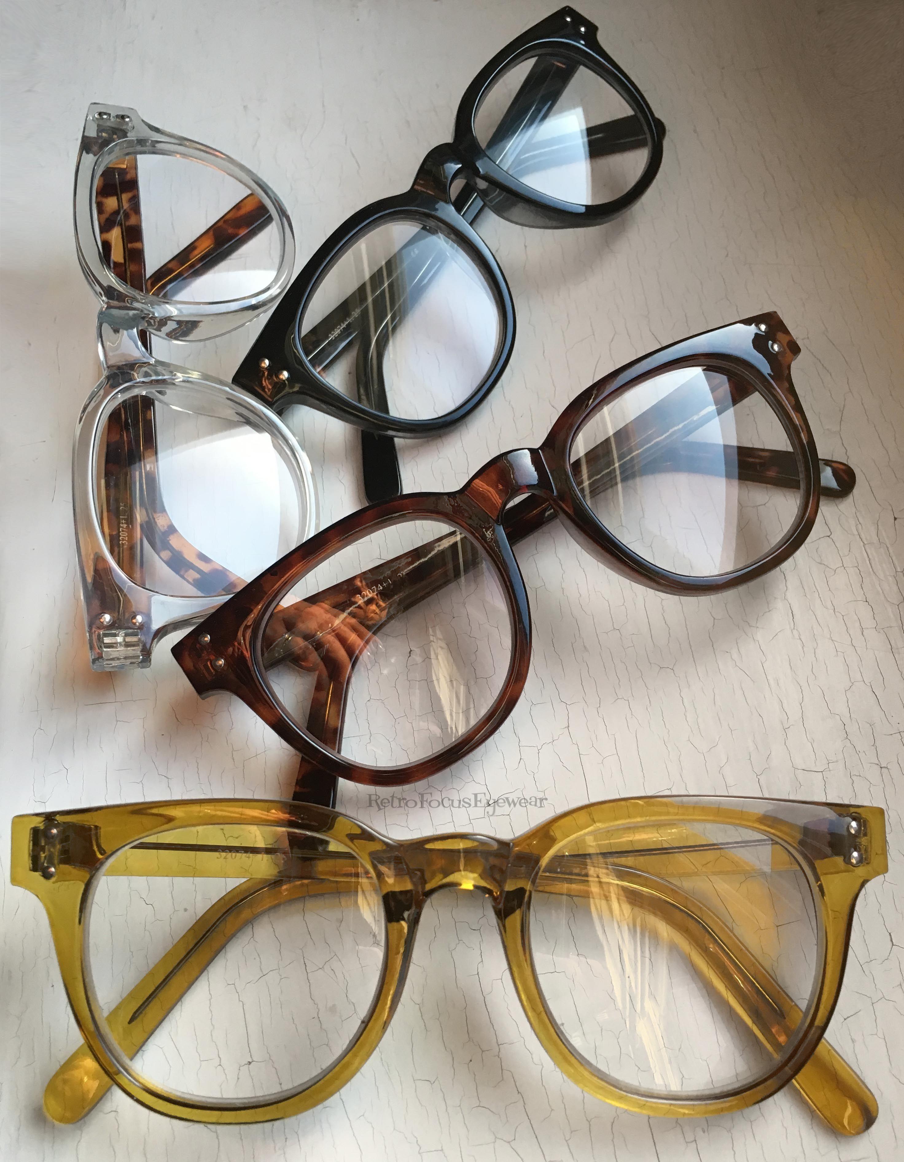 37f7fcb18aa Fun and chunky eyeglass frames. A large hornrim unisex eyeglass frame  that ll make