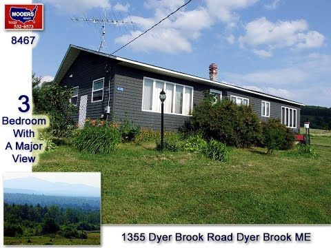 Maine Real Estate Home In Dyer Brook For Sale Mooers Maine Real Estate Real Estate Sale House