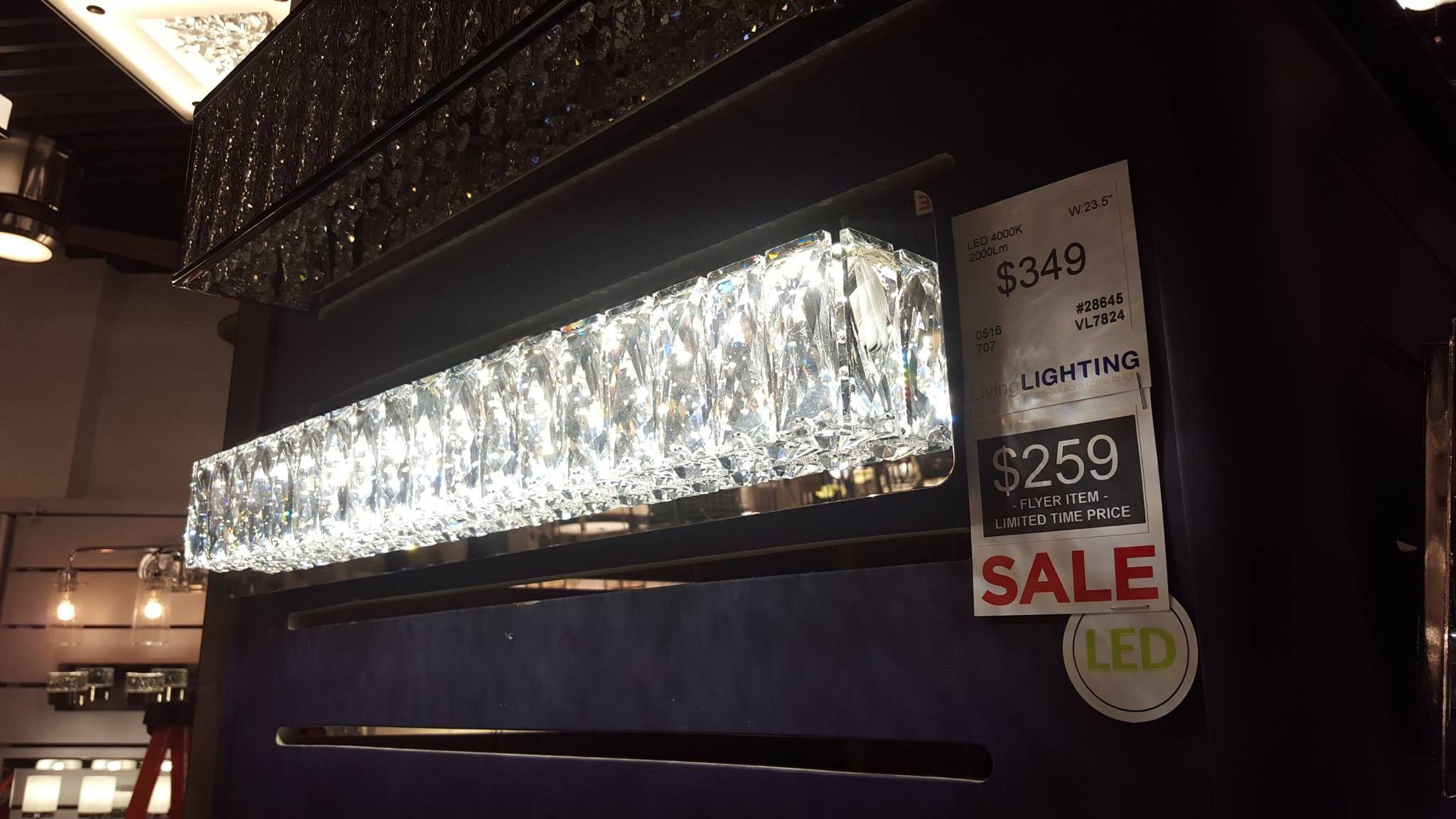 #LED #Crystal #bathroomlights #Kuzco