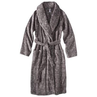 Gilligan   O Malley Women s Cozy Robe - Iron Grey size Small    24.99   d32f284cd