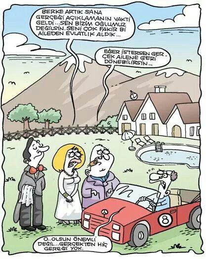 Karikatur Evlatlik Zengin Fakir Aile Karikatur Mizah Komik
