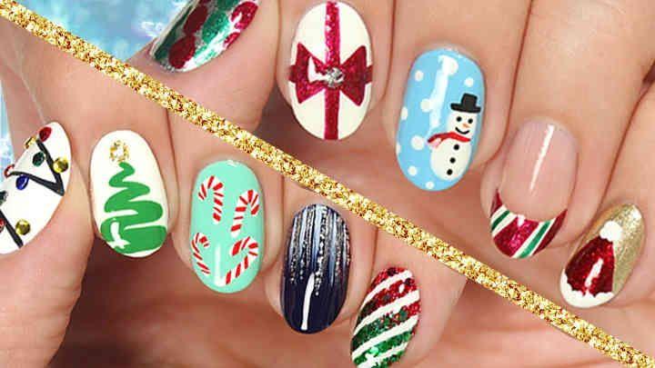 10 Easy Nail Art Designs For Christmas Cutepolish