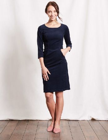 237b1b68554 #Boden Hannah Seam Detail Dress Navy Women Boden, Navy #This easy cord dress  has a secret weapon. Is it the lush fabric, perfect for those in-between ...