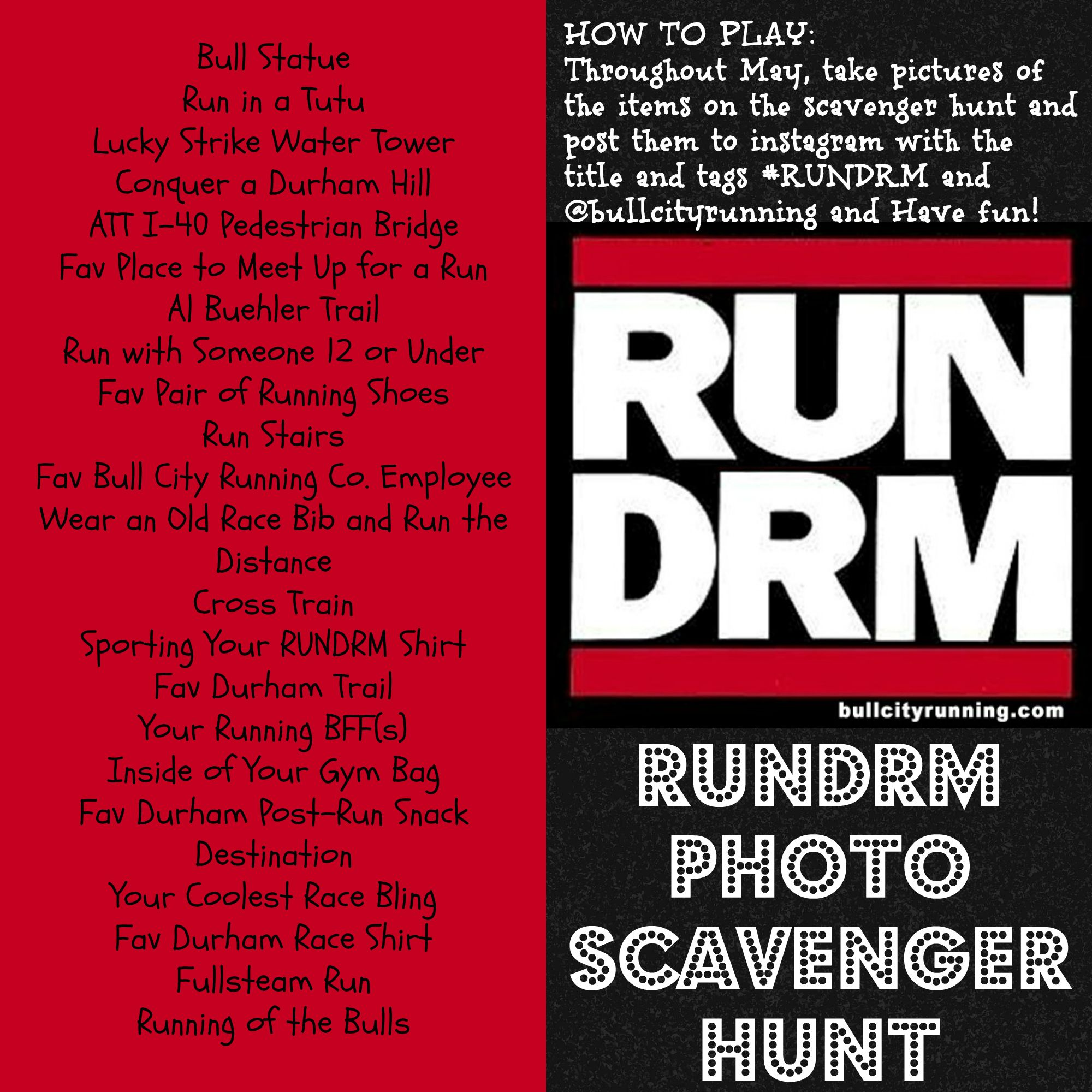Rundrm Photo Scavenger Hunt
