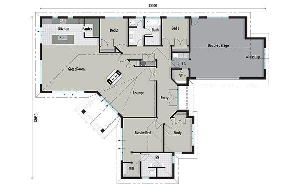 Platinum Homes Platinum Series Verona House Plans House Floor Plans Bedroom House Plans
