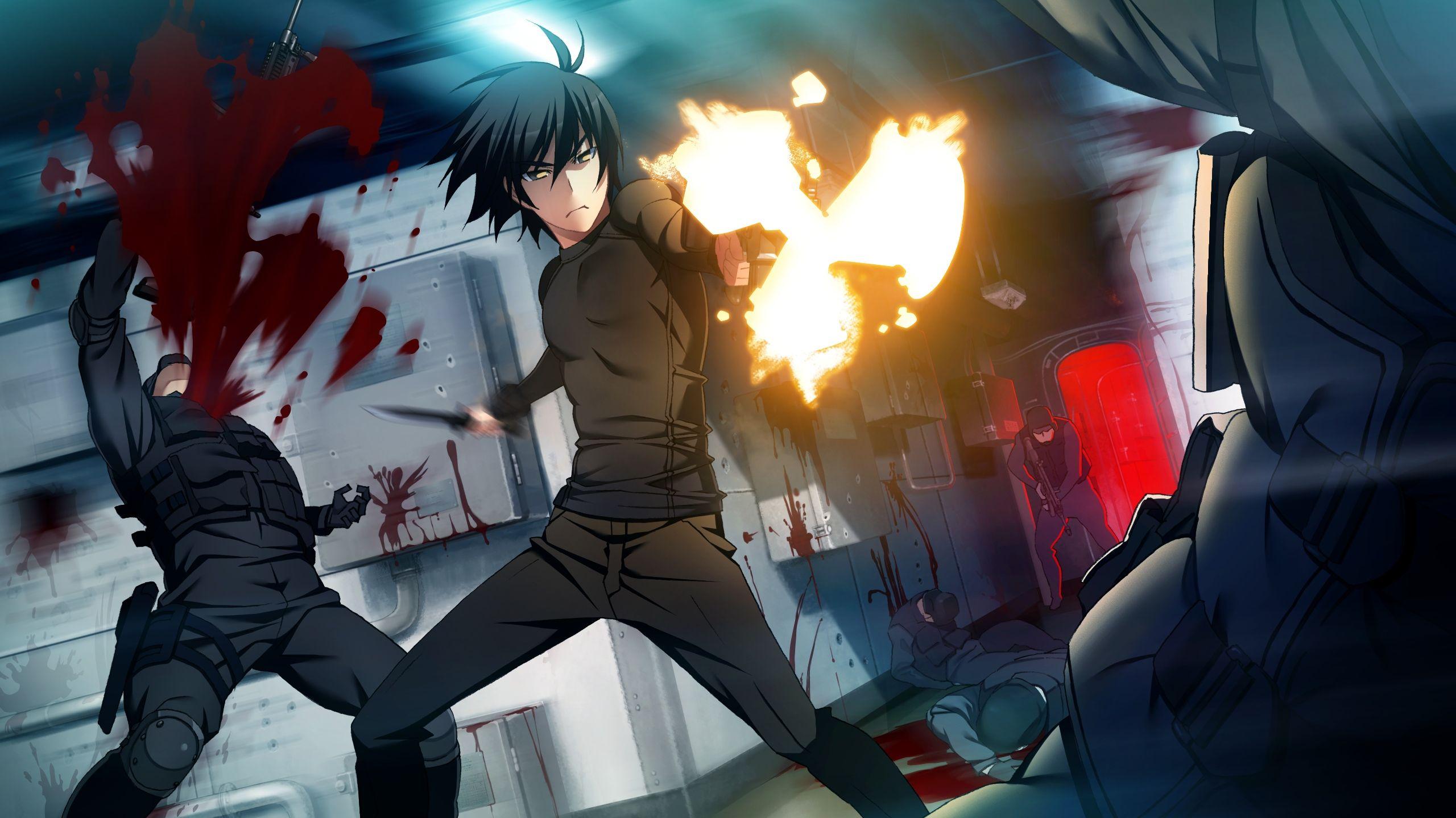 Grisaia No Kajitsu 1507120 Zerochan Anime Desenho De Anime Desenho