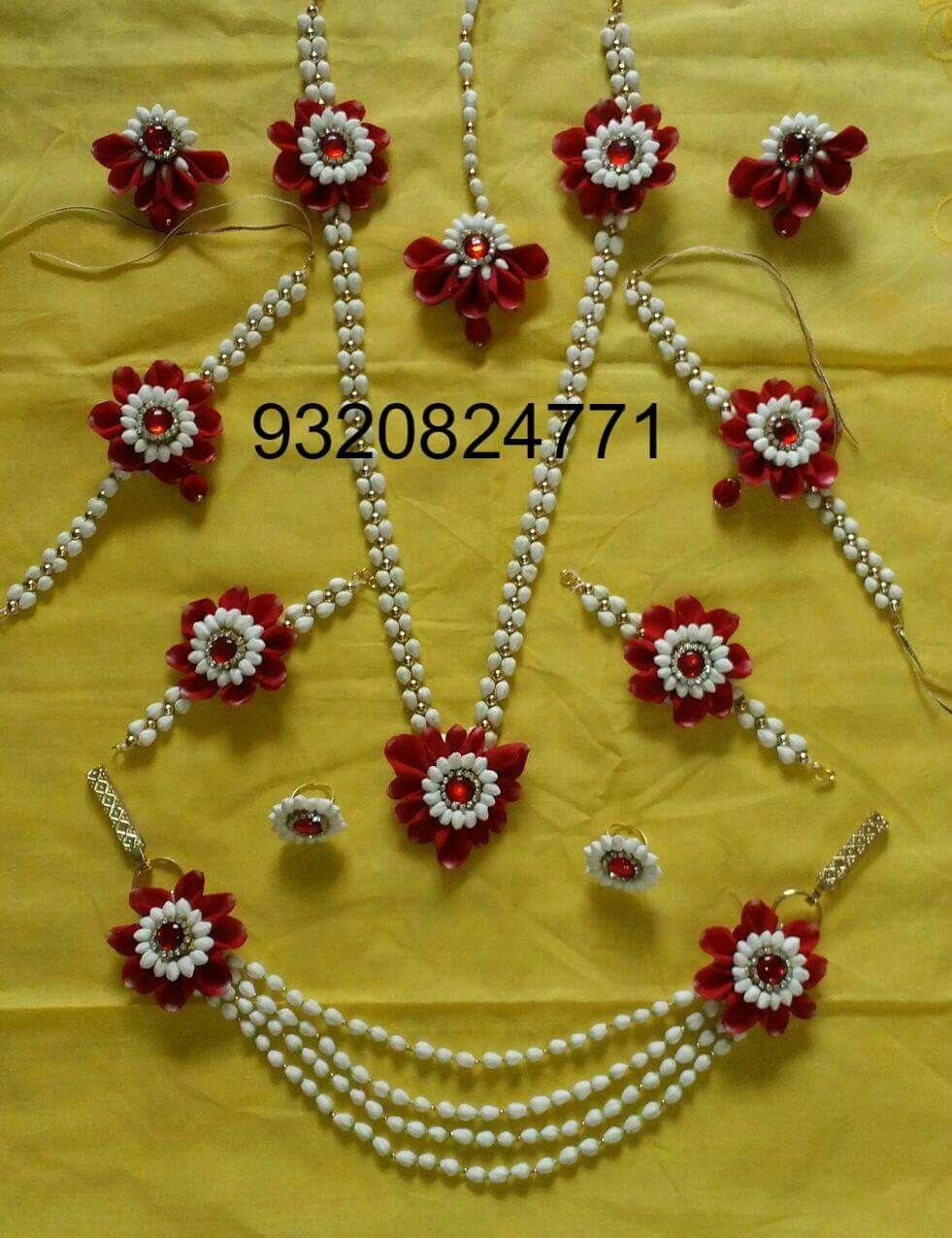 Pin by Dhanashree J on Floral Jewellery Flower jewellery