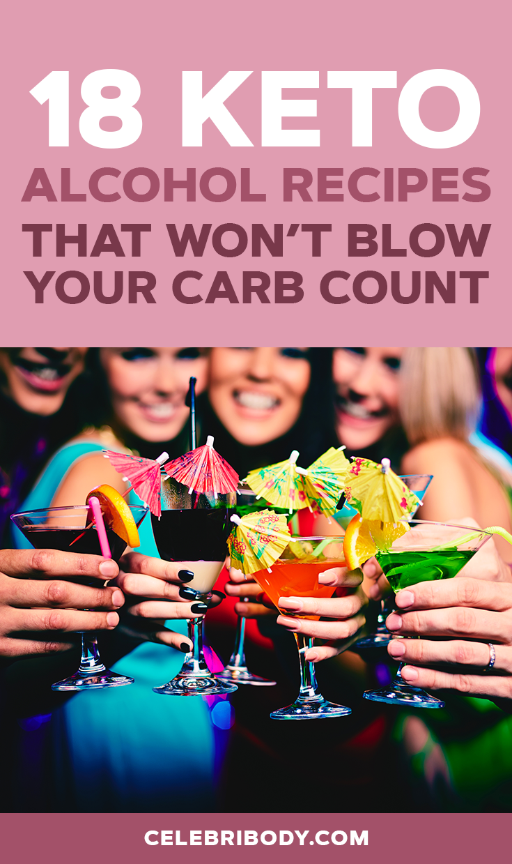 18 Keto Alcohol Recipes That Won T Blow Your Carb Count