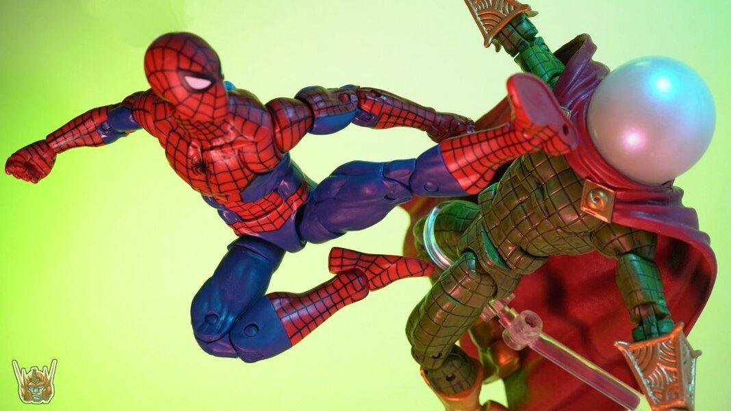 Marvel Legends Vintage Retro MYSTERIO Figure Spider-Man Series In Hand New