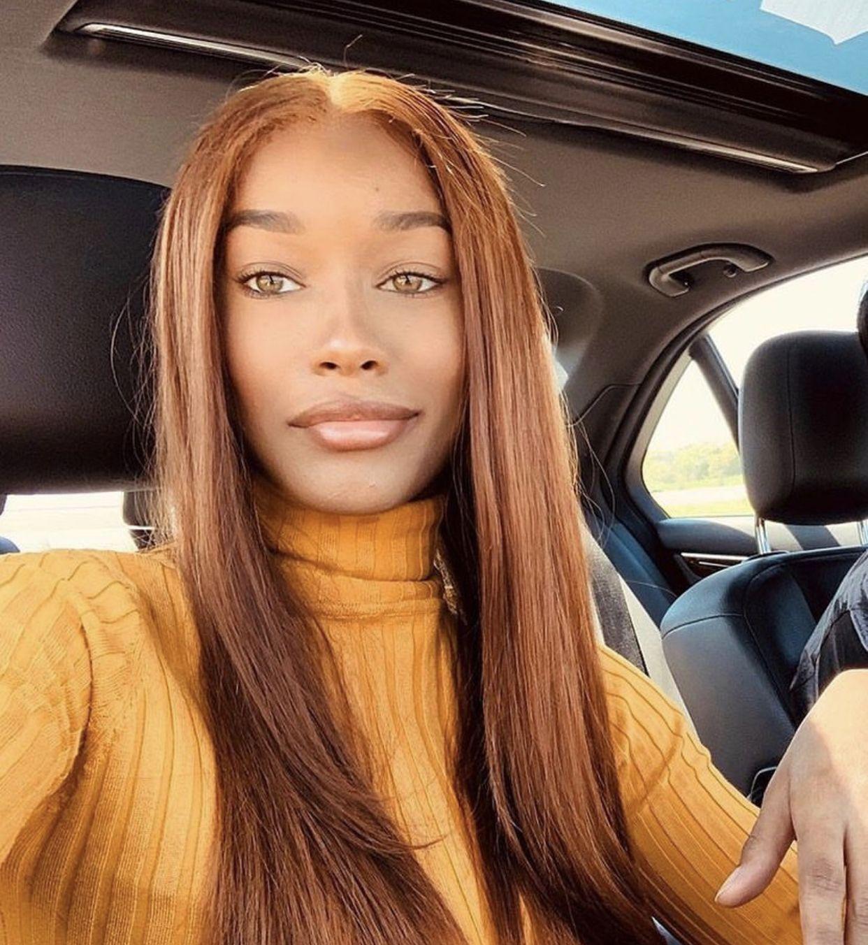 Pin By Adine Christelle On Brown Skin In 2020 Brown Hair Dark Skin Hair Color For Black Hair Brown Blonde Hair