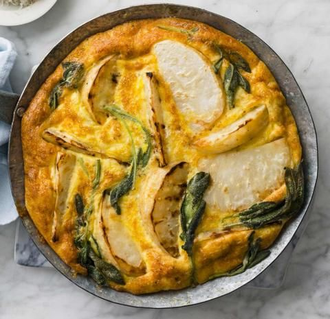 Vegetarische Sellerie-Frittata Rezept