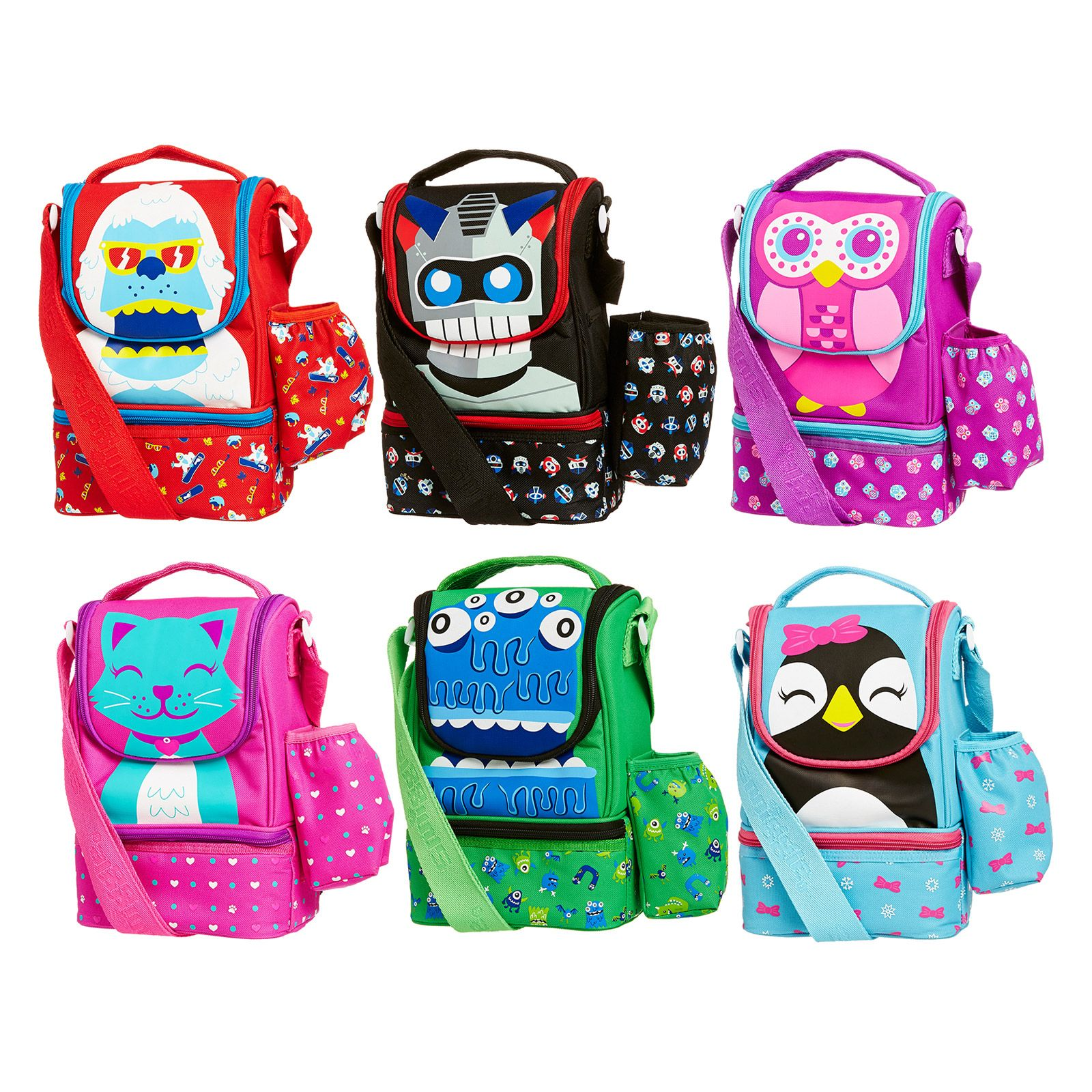 image for strap character lunchbox from smiggle cute products