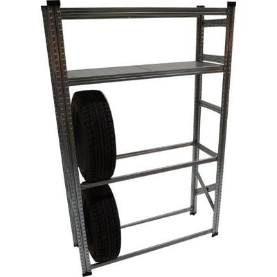 METALSISTEM Heavy Duty Tire Rack And Shelving Kit Home Depot