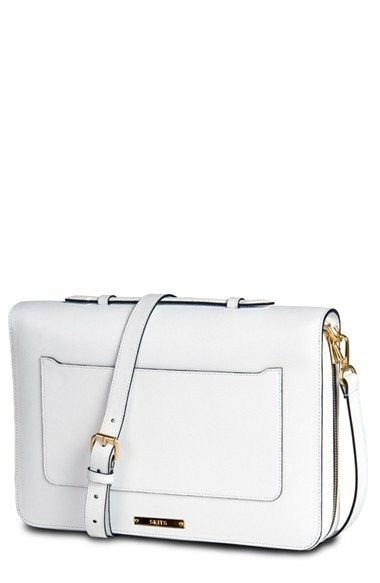 056f20d82456 Look inside this very chic Saffiano leather shoulder bag
