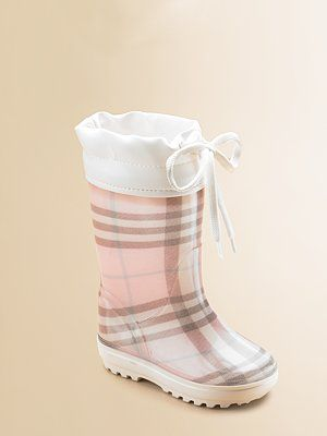 rain boots, Baby girl shoes