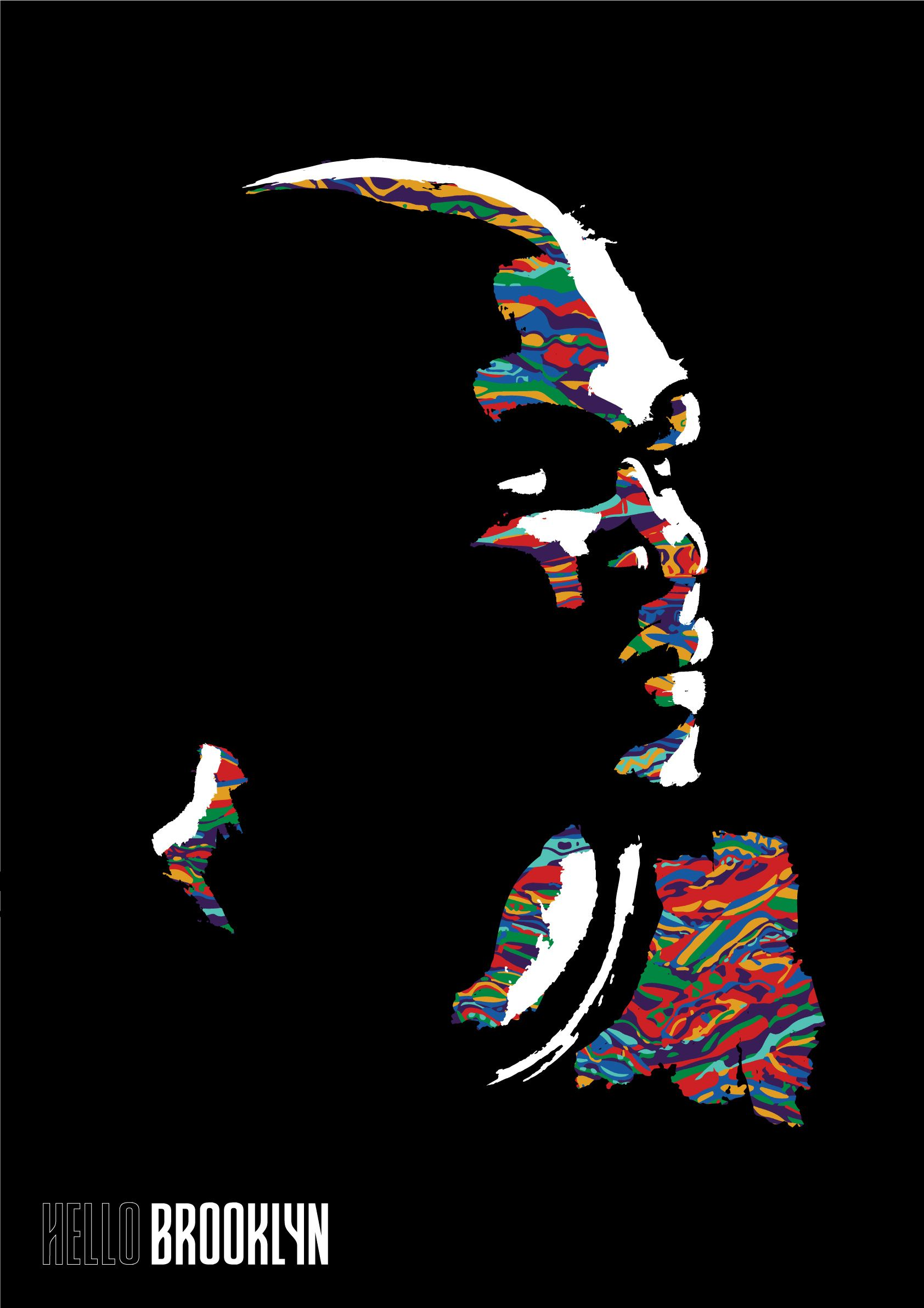 Kevin Durant Brooklyn Nets Biggie Coogi Basketball NBA ...