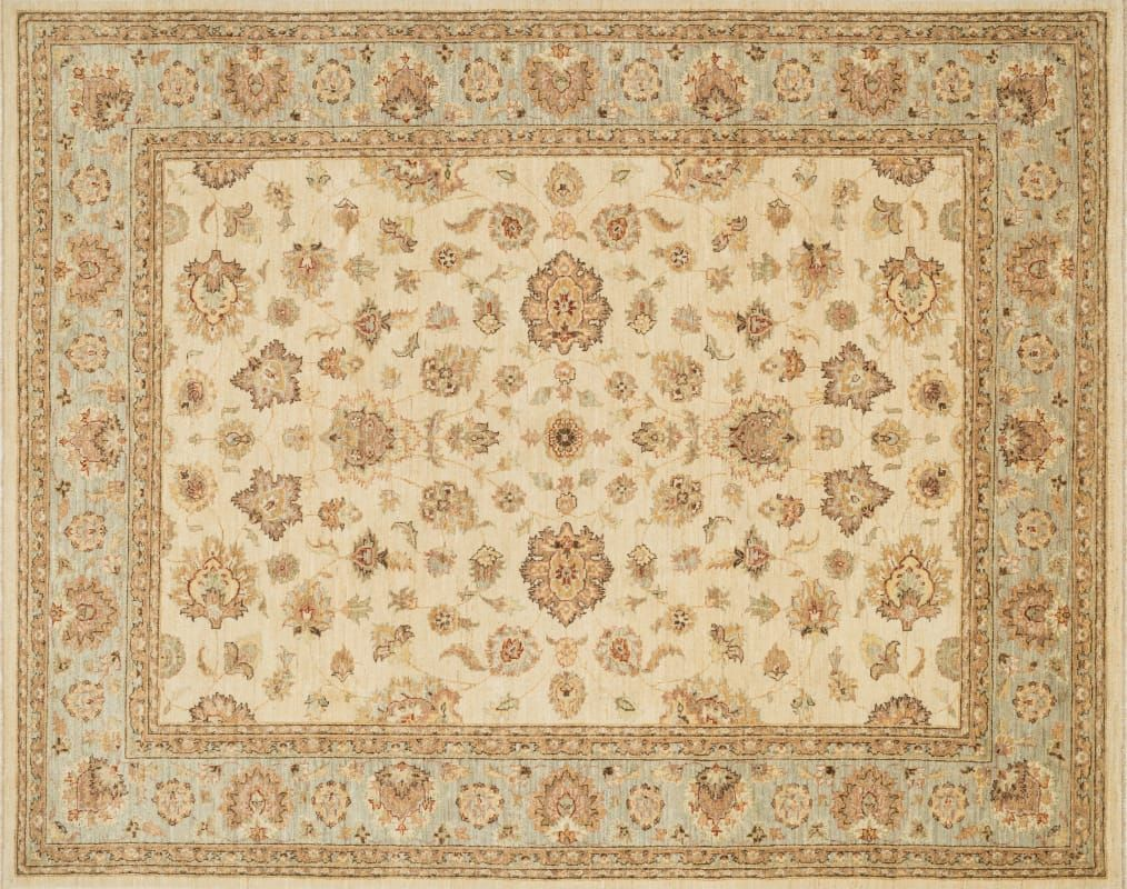 Loloi Rugs Majemm 07 4060 Majestic 4 X 6 Rectangle Wool Hand Knotted Tradition Ivory Blue Rugs Area Rugs Area Rugs Rugs Beige Area Rugs