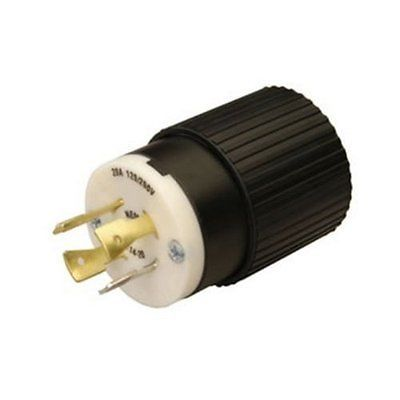 Reliance Controls L1430C 30-Amp L14-30 Female Connector for Generator Cords,Black