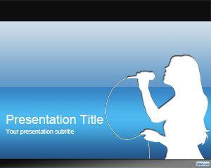 Free Karaoke Powerpoint Template Is A Free Karaoke Template For