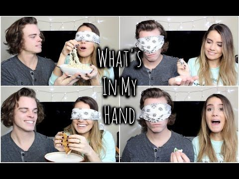 What's In My Hand Challenge w/ Patrick | TessChristine - YouTube