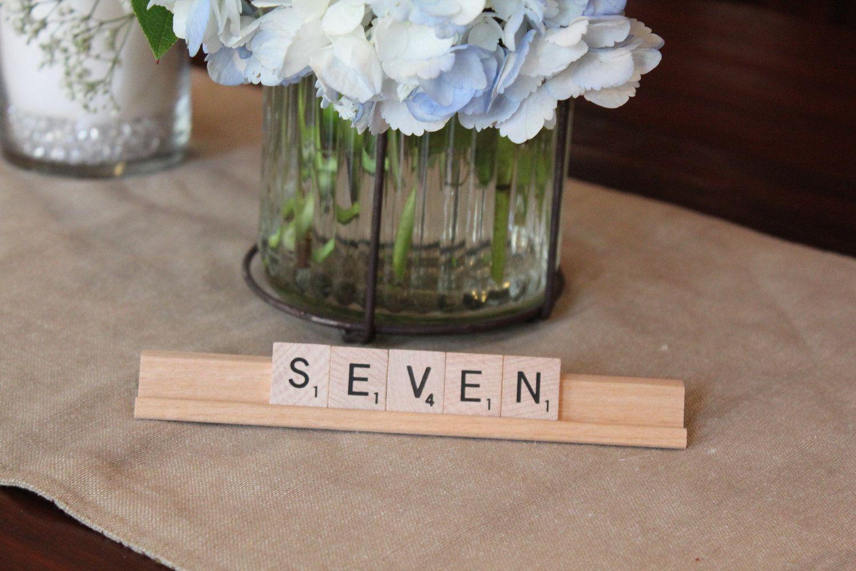 Unique Wedding Reception Table Numbers Handmade Weddings 22original