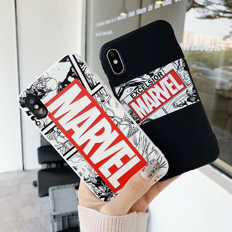 cover iphone 7 marvel 3d