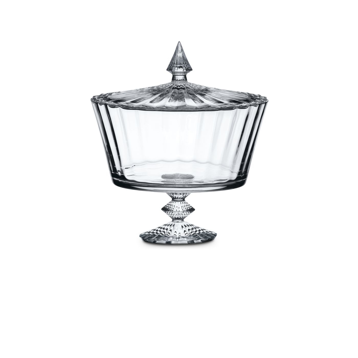 Mille Nuits Candy Box Baccarat Crystal Crystals Vases Decor