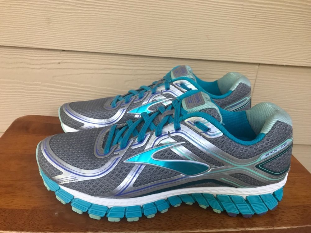 63fb8b5f8c43 Brooks Andrenaline GTS 16 Womens Running Shoes Gray Blue Silver Size 10.5   fashion  clothing  shoes  accessories  womensshoes  athleticshoes (ebay  link)