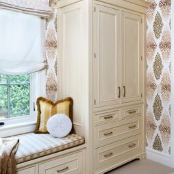 Brilliant Built In Armoire And Window Seat Great Idea For Our Second Download Free Architecture Designs Jebrpmadebymaigaardcom