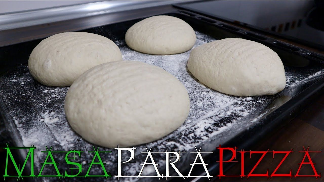 Pin De Monica Ll En Cocina Rusa Masa Para Pizza Italiana Masa Para Pizza Pizza Casera Facil