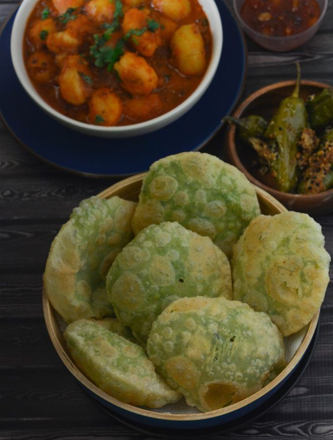 matar ki kachori indian food recipes vegetarian recipes bengali food on hebbar s kitchen kachori id=48868