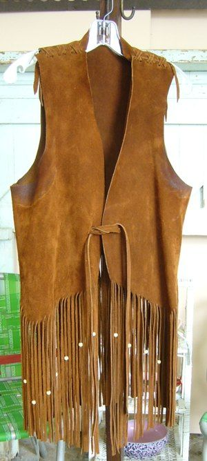 Awesome Trippy 60s Vest