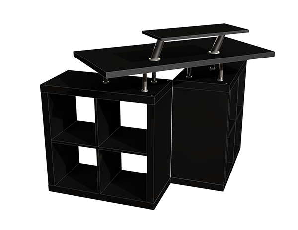 ... Money On Expensive DJ Equipment, And Now You Ran Out Of Space. You Need  A Budget Tabletop/storage Solution. This Is It, An Affordable DIY DJ Booth  You ...