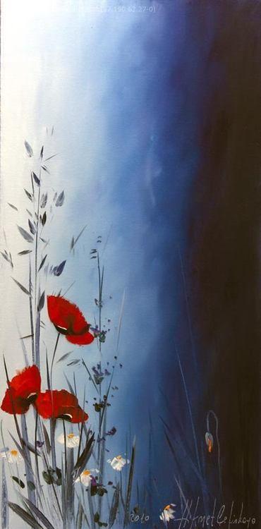 Epingle Par Anny Devenyns Sur Coquelicot Coquelicots Peinture