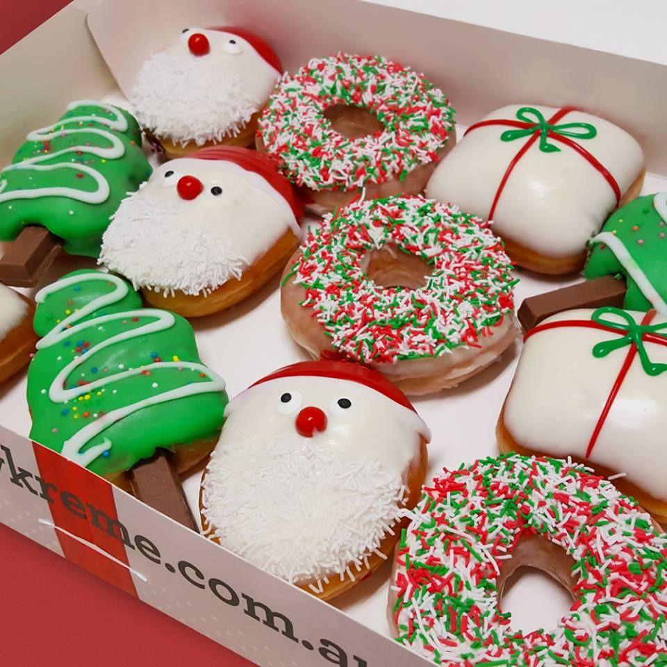 Krispy Kreme Christmas Christmas Donuts Christmas Pastries Christmas Food