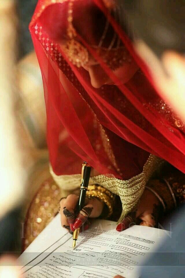 Nikkah. Halal Love ♡ ♡ Pakistani Wedding Dress, Pakistani ...