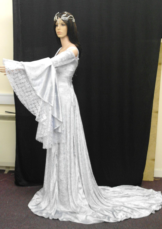 Renaissance medieval handfasting wedding dress by ...
