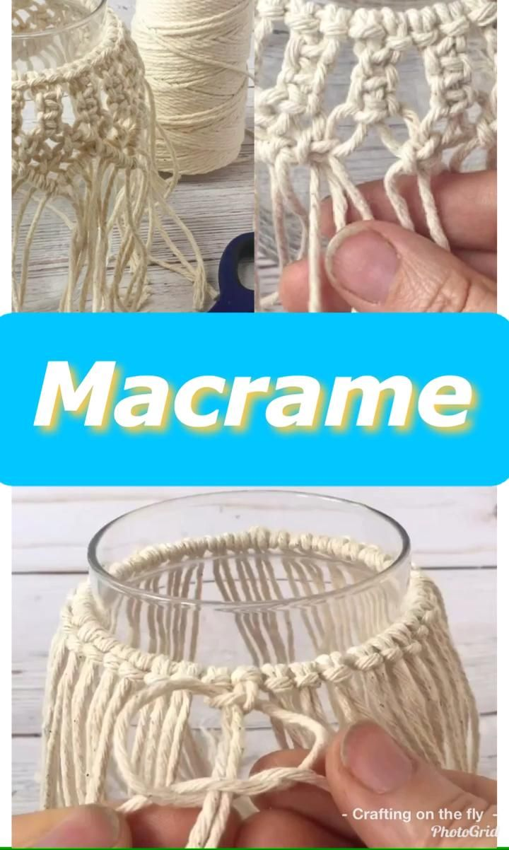 Photo of DIY Macrame Candle Holder Tutorial – Crafting on the Fly