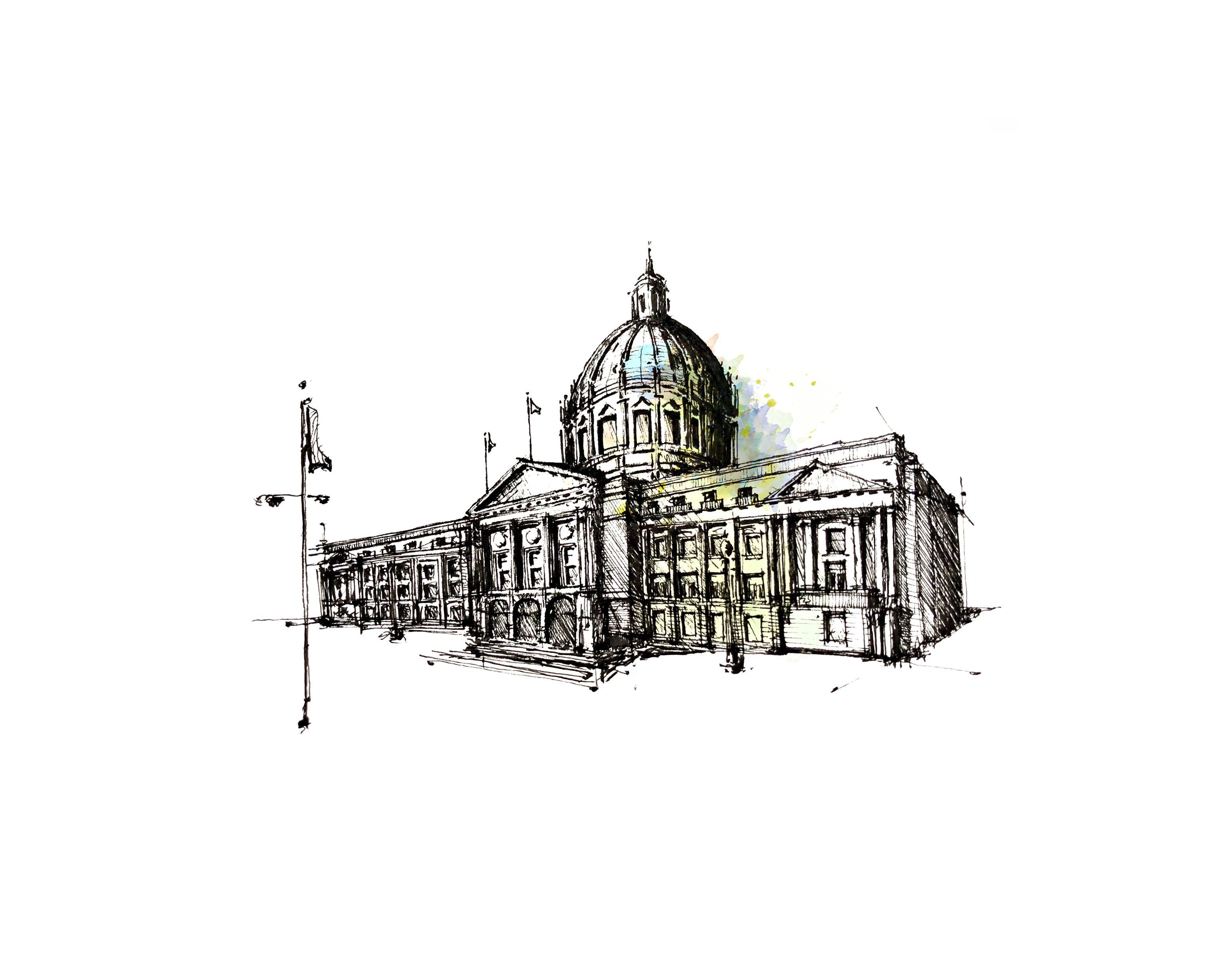 Print: City Hall // San Francisco | San francisco, Hall and City